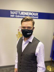 Matt Jeneroux, MP Edmonton Riverbend