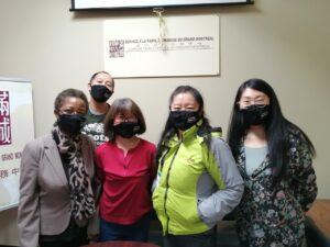 SFCGM Montreal - Director Li with employees & volunteers